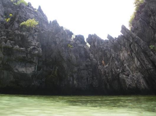 secret beach, el nido, palawan