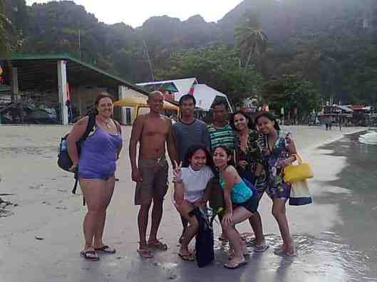our island hopping team